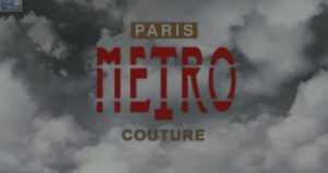 Paris METRO Couture Adding a Virtual Audience to Real World Events